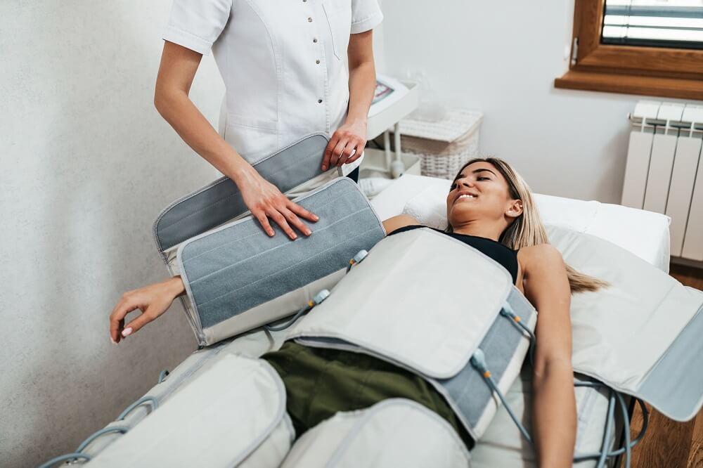 masaż pneumatyczy